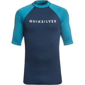 Quiksilver Always There SS Shirt Men medieval blue